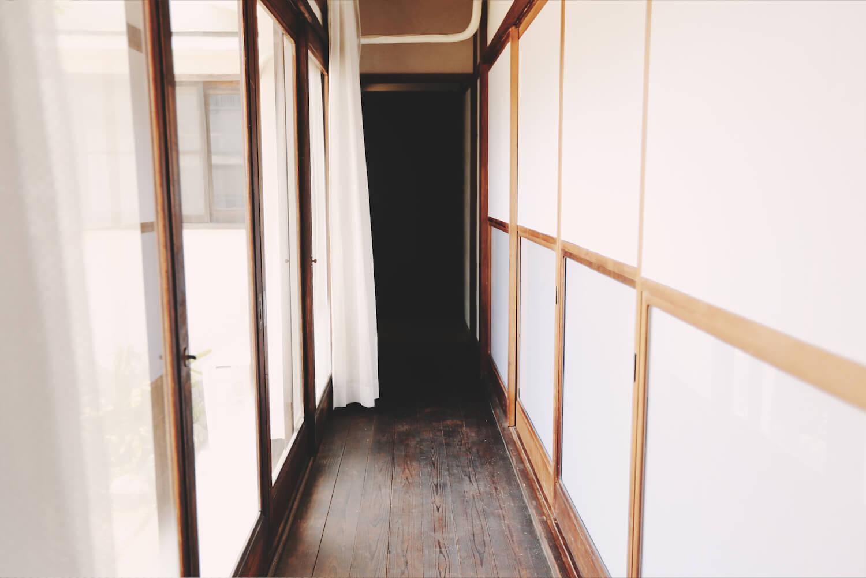 和室に隣接した縁側